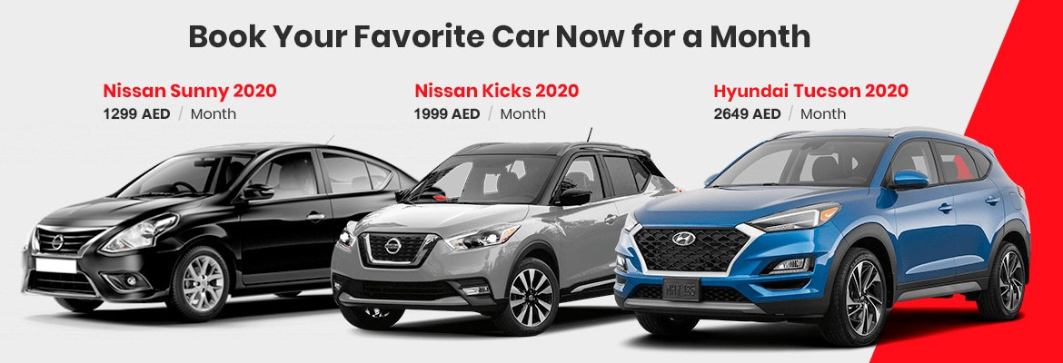 Book Your Favourite Car Now for a Month