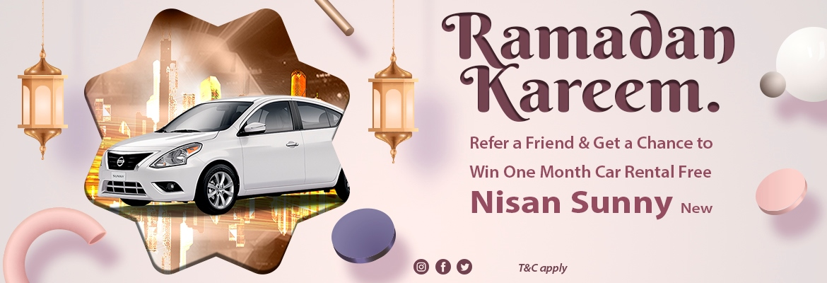 Win One Month Car Rental Free